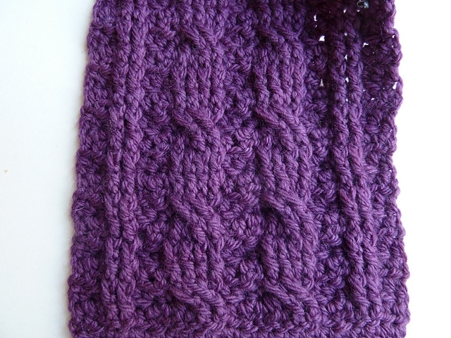 Although the pattern is written for aran/worsted weight yarn, it can ...