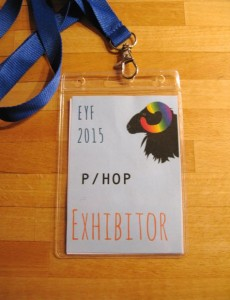 EYF exhibitor's pass